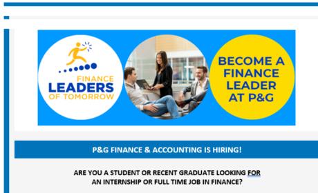 Start your career in P&G