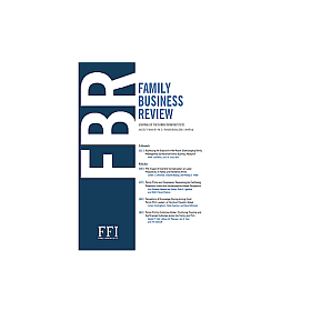 Family Business Review published a study of A. Kubíček a O. Machek