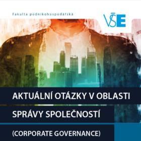 """Nová publikace Aleše Kubíčka """"Aktuální otázky v oblasti správy společností"""""""