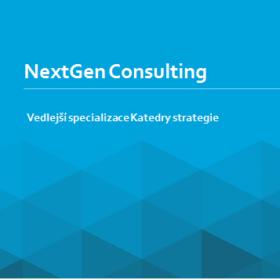 Představujeme Vám novou vedlejší specializaci NextGen Consulting!