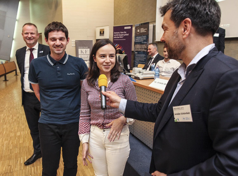 Vyhodnocení soutěže o nejlepší studentskou práci a video z Konference Insolvence 2019